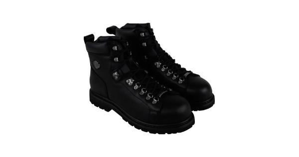 47be1e0750a Harley-Davidson Dipstick Steel Toe Mens Black Leather Hiking Boots Shoes -  MassGenie
