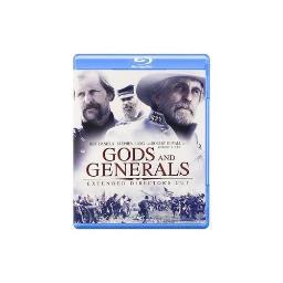 GODS & GENERALS-EXTENDED DIRECTORS CUT (BLU-RAY BOOK/2 DISC/WS-16X9) 883929206230