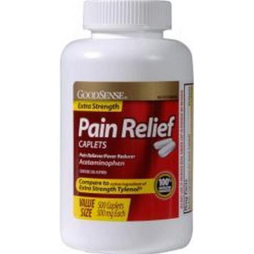 Merchandise 1741438 Good Sense Extra Strength Pain Reliever Caplets