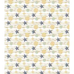"Craft Consortium Decoupage Papers 13.75""X15.75"" 3/Pkg White Stars"