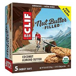 Clif Nut Butter Filled Bars Coconut Almond Butter