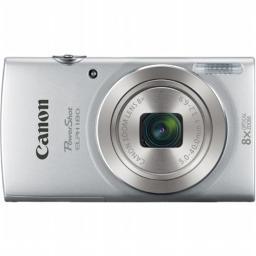Canon 1093C001 PowerShot ELPH 180 Digital Camera with 20.0 MP CCD Sensor & 8x Optical Zoom, Silver
