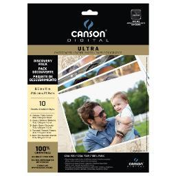 Canson/fila co 100516313 canson digital ultra mix media trial pack 10 sheet 8.5x11