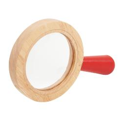 Learning advantage wooden surround hand lens 72225
