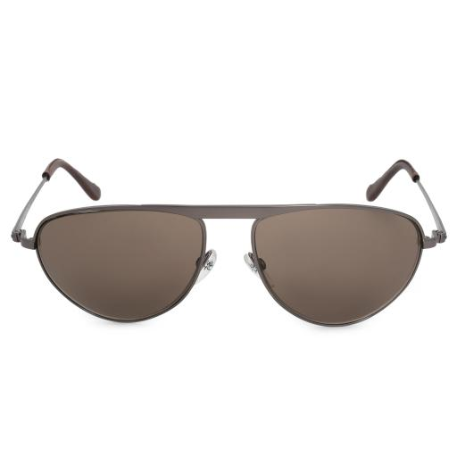 Tom Ford James Bond 007 Oval Sunglasses FT0108 09J 57 Semi Shiny Gunmetal Frame Roviex Lenses 0YLILMT3UKUMNRRS