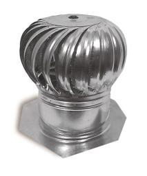 "Ll Building Products Gic12 Internally Braced Turbine Ventilator, 12"""