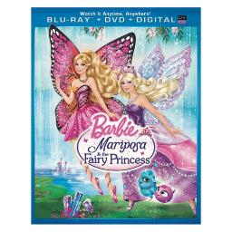 Barbie mariposa & the fairy princess blu ray/dvd combo w/digital copy/uv BR63125060