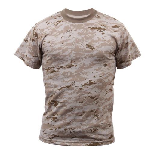 Rothco Kids Digital Camouflage T-Shirt, Desert Digital Camo