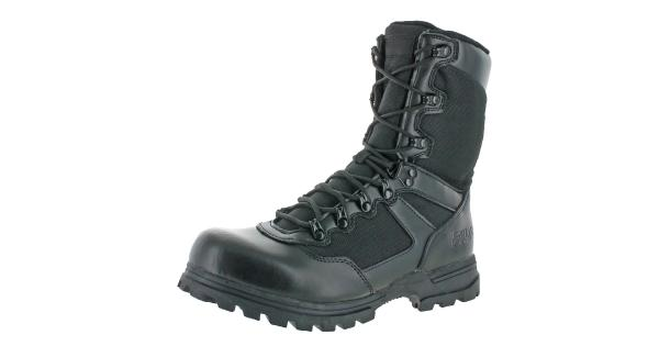 Fila Mens Stormer Leather Military Tactical Boots