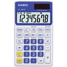 Casio sl-300vc portable calculator sl-300vc-be