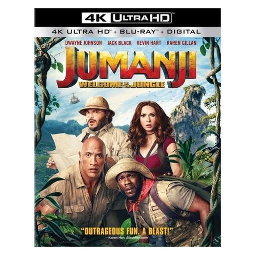 Jumanji-welcome to the jungle (blu-ray/4k-uhd/ultraviolet/2 disc) T74UCJCTRIGSRBEA