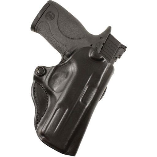 Desantis 019bay8z0 desantis mini scabbard holster rh owb leather glock 42 black