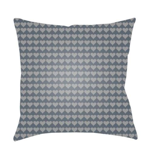 Surya LI023-2222 Littles 22 x 22 x 5 in. Throw Pillow, Grey - Large
