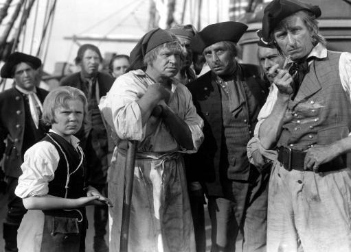 Treasure Island Jackie Cooper Wallace Beery 1934 Pirates On Ship Photo Print 0CILV9QTGYGADR9K