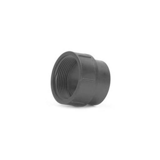 Genova 81614 Abs-dwv Fitting Clean-out Adapter, 1-1/2