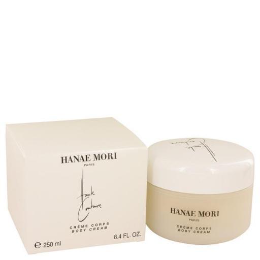 Hanae Mori 539029 8.4 oz Haute Couture by Hanae Mori Body Cream for Women