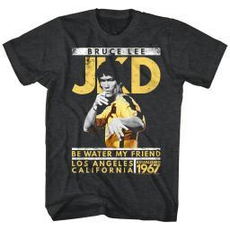 Bruce Lee Icons Jay Kay Dee Adult Short Sleeve T Shirt