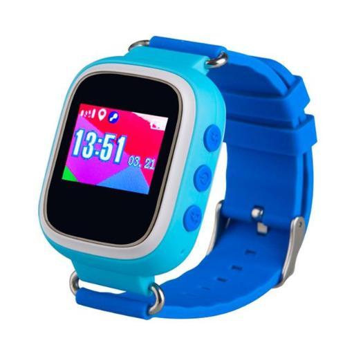 TechComm TD-03-BLUE TD-03 Kids Smart Watch with GPS & Sleep Monitor for T-Mobile, Blue MOFD3VMOMORTH4W3