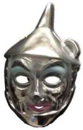 Tin Man PVC Mask Wizard Of Oz Adult Child Movie Costume Party Halloween