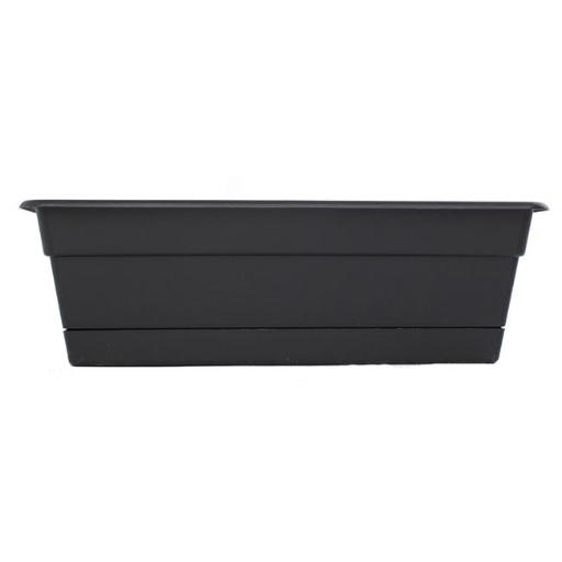 Float Storage FB23SET-B 1.75 to 2.125 in. Multi Pack Flower Box Holders Fits Fence, Black