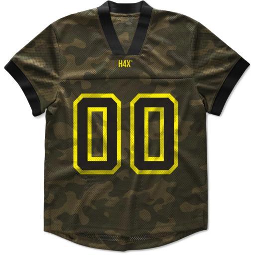 H4X Mens Camouflage Mesh T-Shirt