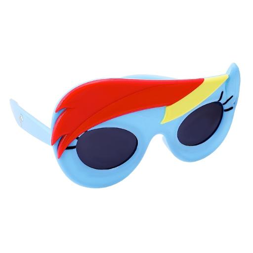 6ccaec76b00 Officially Licensed My Little Pony Rainbow Dash Sun-Staches Brony TV Show.  by Novelty Sunglasses