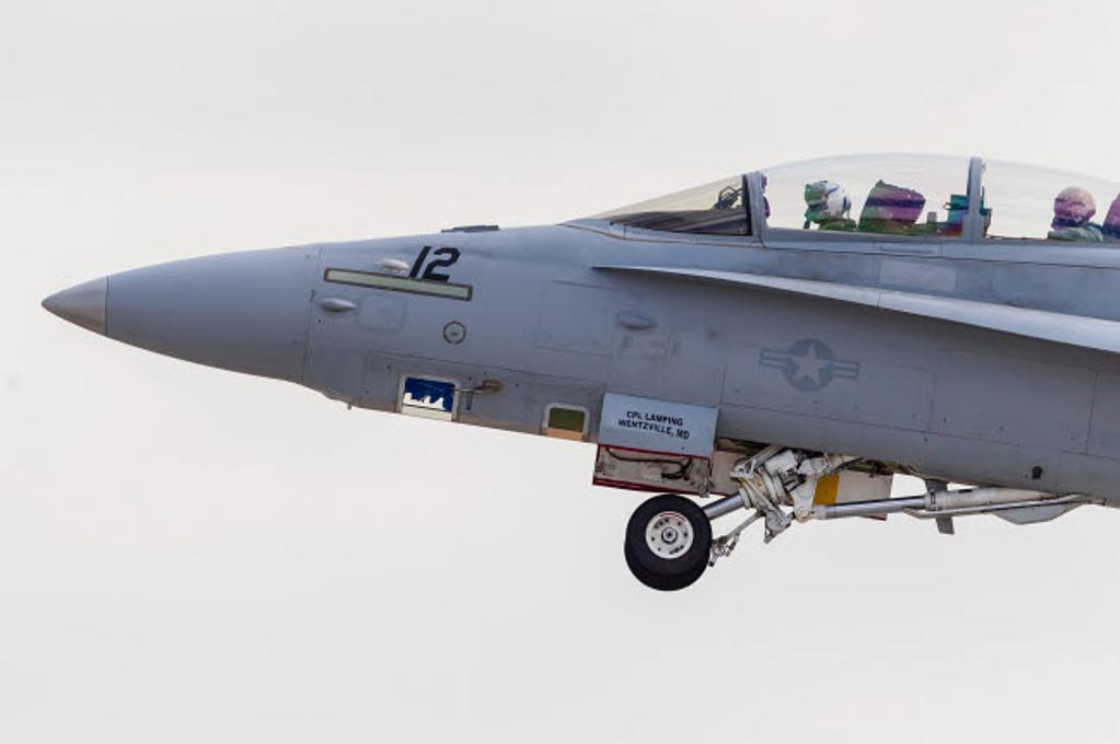 A reconnaisance equipped F/A-18D of the US Marine Corps Poster Print by Rob Edgcumbe/Stocktrek Images