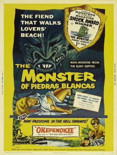 The Monster of Piedras Blancas Movie Poster (11 x 17) 4M8FF37LI7YABZ40