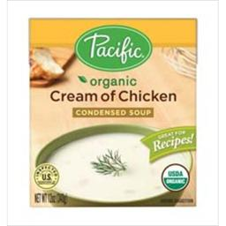 Organic Cream Of Chicken Condensed Soup -Pack of 12