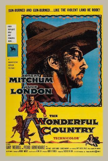 The Wonderful Country Us Poster Art Robert Mitchum 1959 Movie Poster Masterprint BXLKNPDJCDQNLYCI