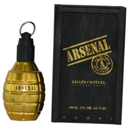 Gilles Cantuel Arsenal Gold Eau De Parfum Spray For Men, 3.4 Ounce