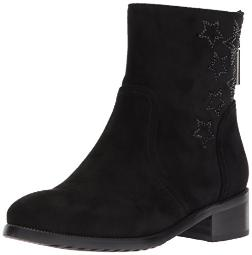 Azura by Spring Step Women's Rikki Ankle Bootie, Black, 40 EU/9 M US