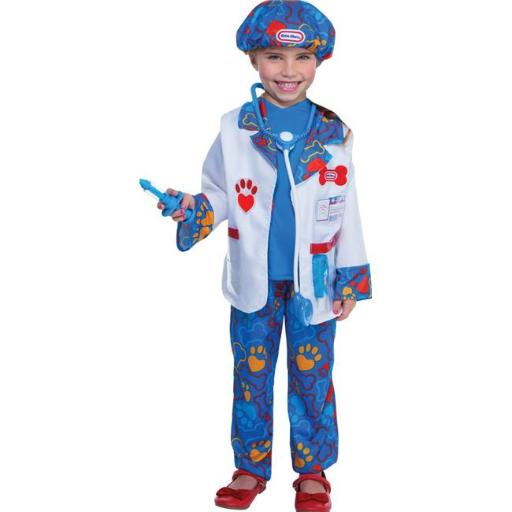 Loftus LF1502TS Toddler Little Tikes Vet Costume - 1-2T