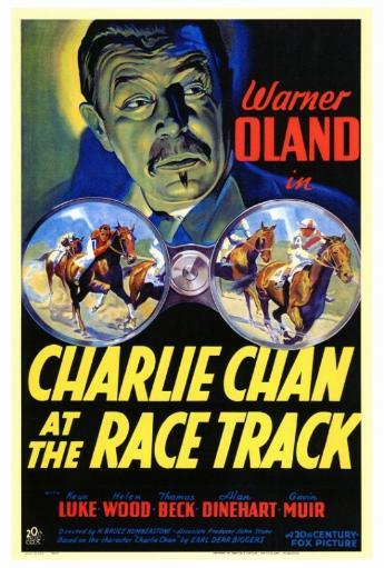 Charlie Chan at the Race Track Movie Poster Print (27 x 40)