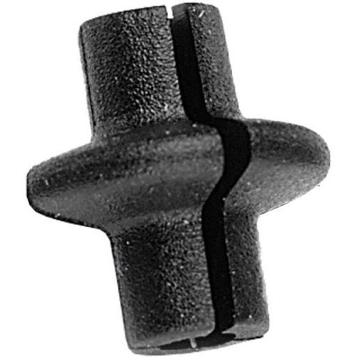 PINE RIDGE ARCHERY 2765 PINE RIDGE KISSER BUTTON SLOTTED BLACK 1EA
