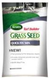 Scotts 18272 Turf Builder Quick Fix Grass Seed, 3 Lbs
