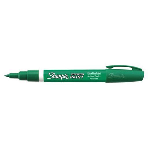 Sanford 35572 sharpie water-based paint marker x-fine green