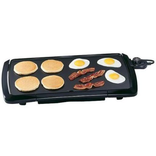 Presto 07030 BLK Cool Touch Griddle pack of 3