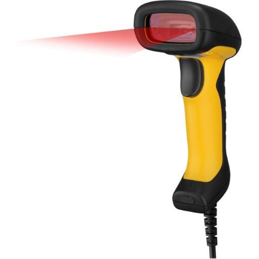 Adesso Nuscan2400U Adesso Impact Resistant, Antimicrobial Waterproof Usb Handheld Ccd Barcode Scann