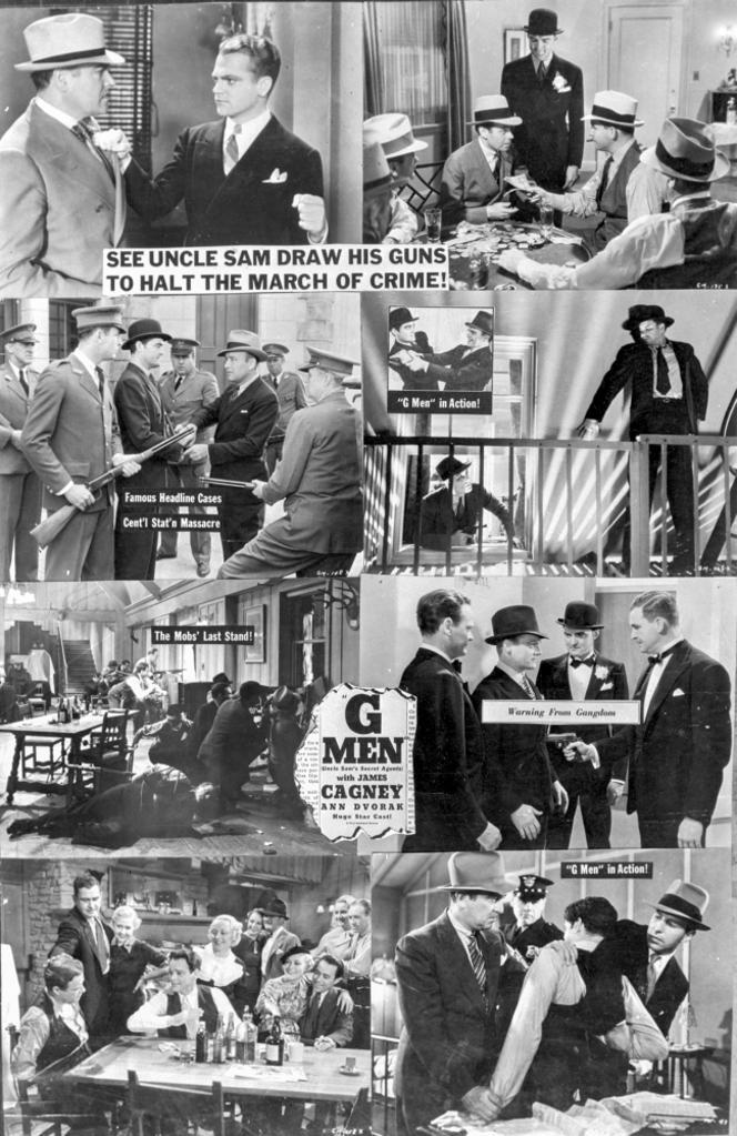 A Poster For G Men Photo Print