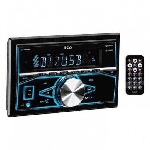Boss Audio 820BRGB Double-DIN Mechless Bluetooth