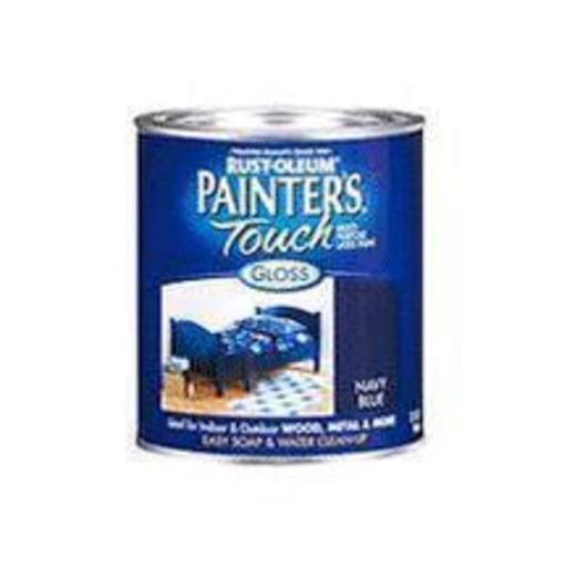 Painter's Touch 1974hpt Multipurpose Latex Paint 1/2 Pt, Semi Gloss Black