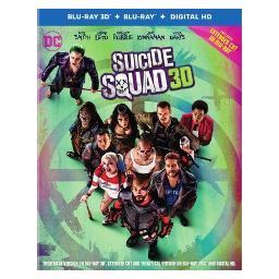 Suicide squad (blu-ray/3-d/2016/digital hd/ultraviolet/3 disc) (3-d) BR582029