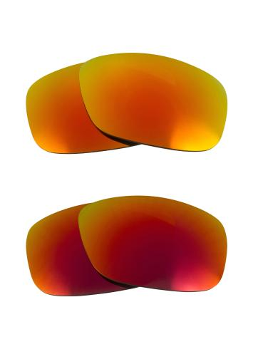 b222d757269 FUEL CELL Replacement Lenses Red   Yellow by SEEK fits OAKLEY Sunglasses.  by Seek Optics