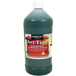 Washable Art-Time(R) Tempera Paint 32oz Green