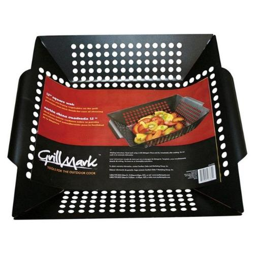 Grill Mark 98121A Steel Square Grill Topper Wok