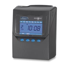 Lathem Time Company LTH7500E Calculating Time Recorder- 6in.x5in.x8in.- Black
