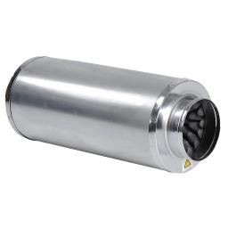 """Yescom Hydroponics 6"""" Inline Fan Blower Silencer Duct Muffler Noise Reducer fit Grow Tent System"""