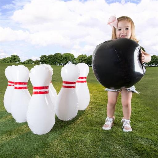 Hey Play M350033 Kids Giant Bowling Game Set