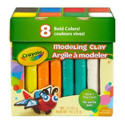 Crayola llc modeling clay 2 lb jumbo assortment 570315